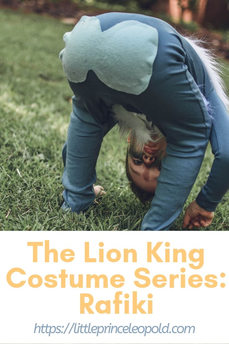 the lion king halloween rafiki costume kids