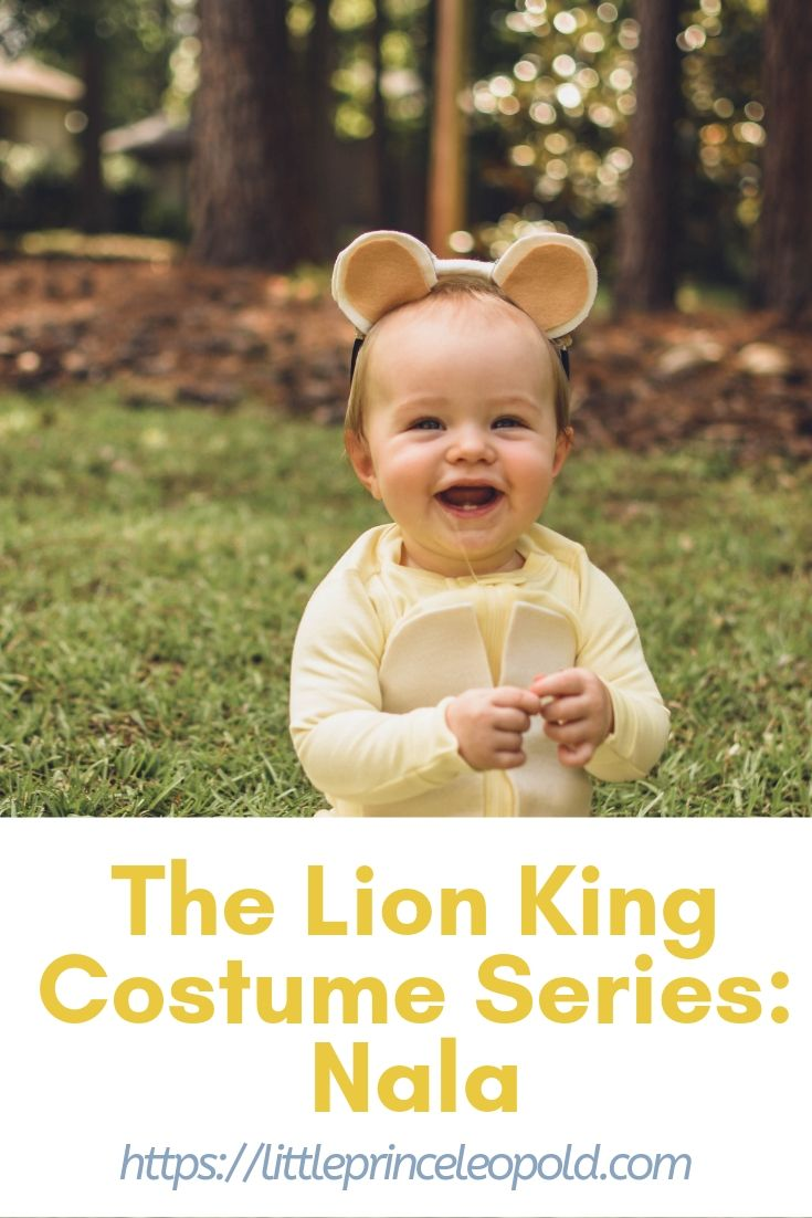 The Lion King Costume Series Nala Little Prince Leopold
