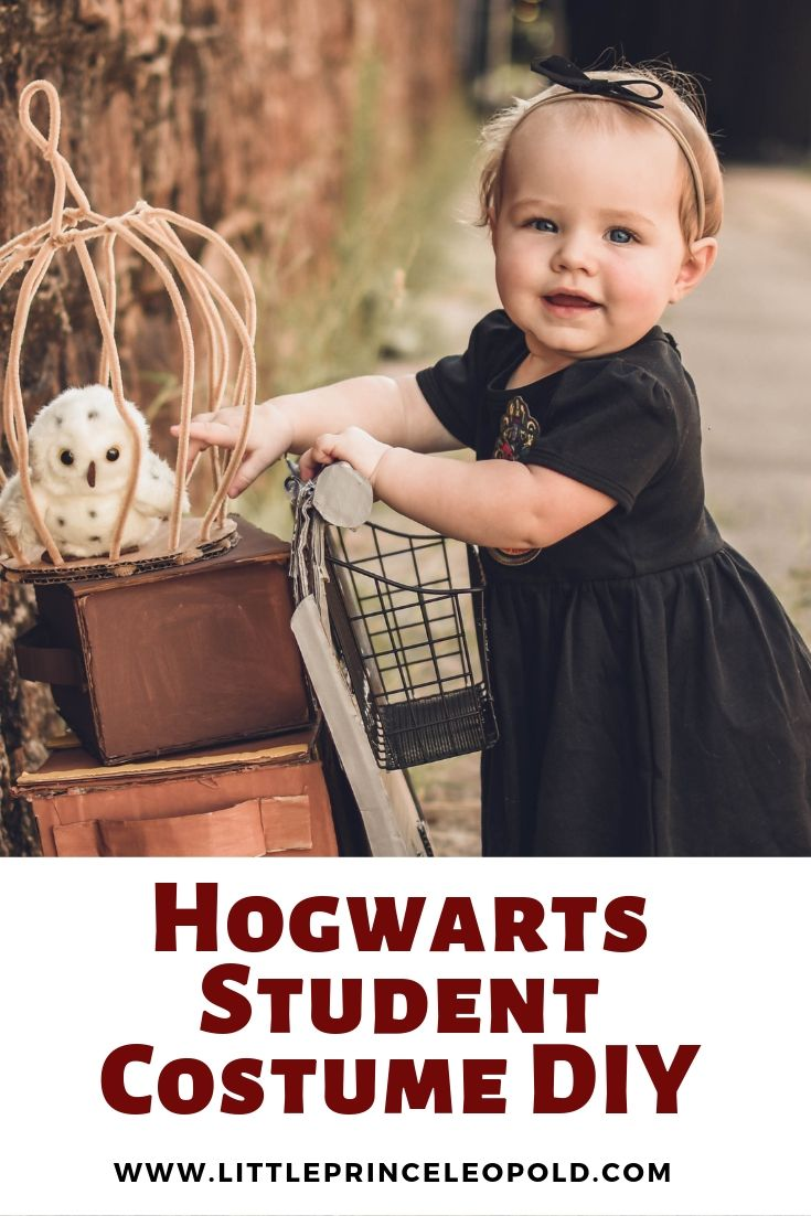 harry potter costume for babies diy no sew